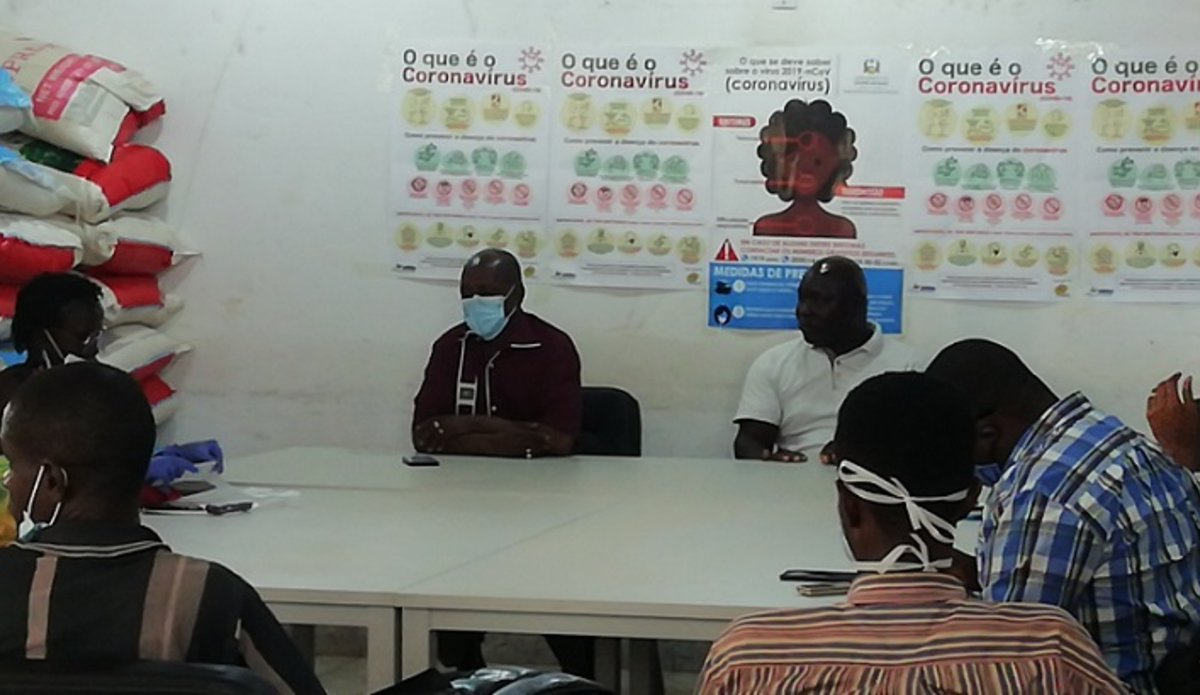 Daily Press conference about COVID in Guinea-Bissau