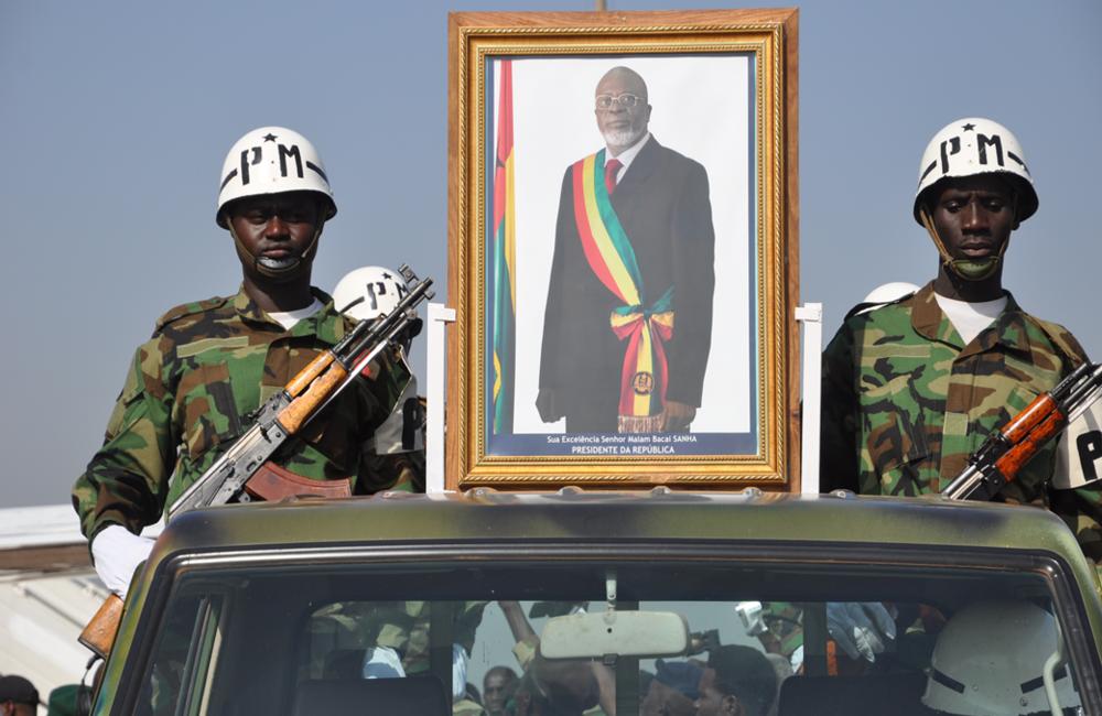Bissau, 14-15 de Janeiro de 2012. Funeral de Estado do Presidente Malam Bacai Sanhá depois da sua morte em França, a 9 de Janeiro.