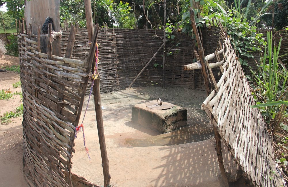 World Toilet Day – Most used latrine by Guinean families whose access to sanitation has improved in last years.