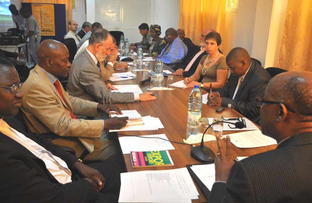 November. Civil society briefed international partners