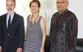 PBC Embaixador A.Patriota e ASG Sra.Judy Cheng-Hopkins visitam Bissau