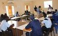 UNIOGBIS promove seminário de capacitação para agentes da Policias de Ordem Publica e da Guarda Nacional sobre drogas