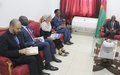 SRSG Sori-Coulibaly meets national authorities on priorities: smooth completion of the electoral cycle and UN transition