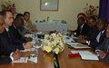 SRSG reuniu-se com Secretário de Estado das Relações Exteriores angolano