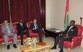 """Presidente da Comissão para Consolidação da Paz da ONU """"encorajado"""" com encontros em Bissau"""
