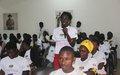 Neste Dia Internacional da Juventude, jovens guineennses comprometem-se a atingir o consumo e a produção sustentáveis
