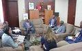 Presidente do Comité de Sanções da ONU (Res. 2048) em visita à Guiné-Bissau