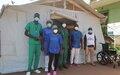 Profissionais de saúde na linha da frente no combate à COVID em risco