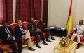 Parceiros da Guiné-Bissau, preocupados, pedem moderação aos actores políticos