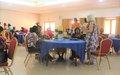 ONU Mulheres promove um ateliê nacional sobre a lei de paridade e as lições aprendidas nas últimas eleições legislativas