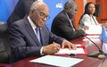 Nações Unidas e Guiné-Bissau assinam novo quadro de parceria no valor de 340 milhões de dólares